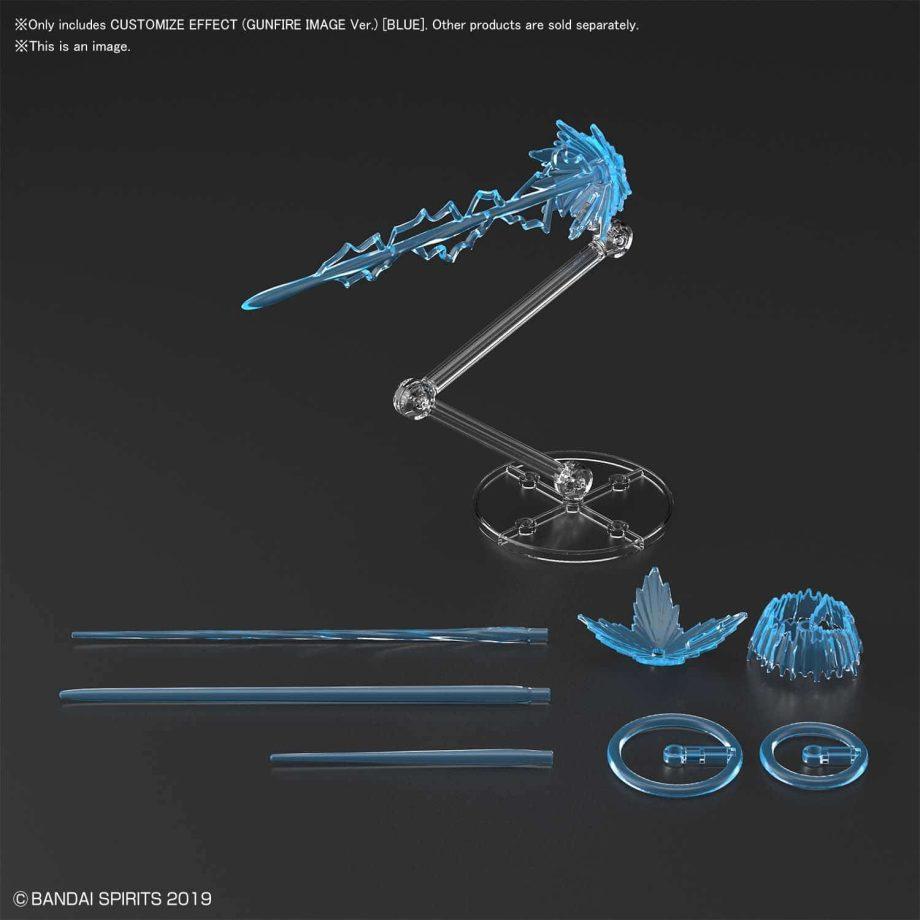 Customize Effect Gunfire Image Ver Blue Pose 3