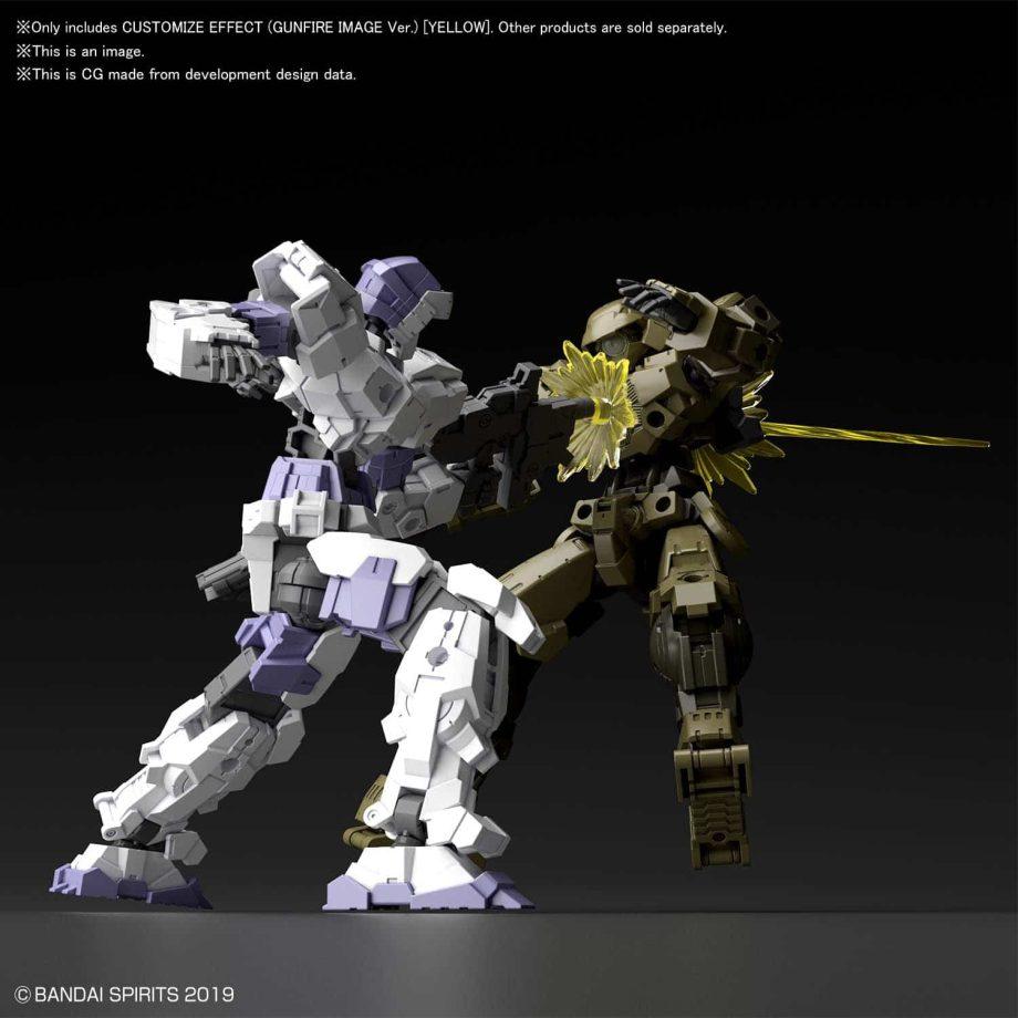 Customize Effect Gunfire Image Ver Yellow Pose 2