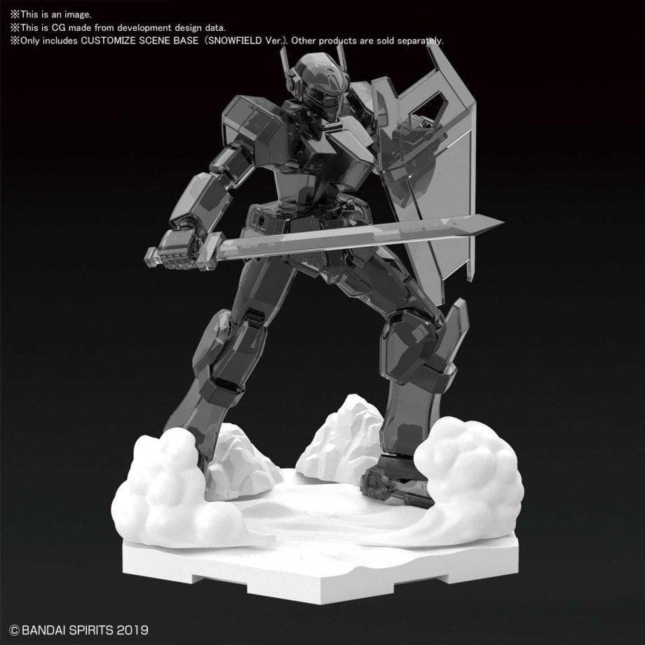 Customize Scene Base Snowfield Ver Pose 3