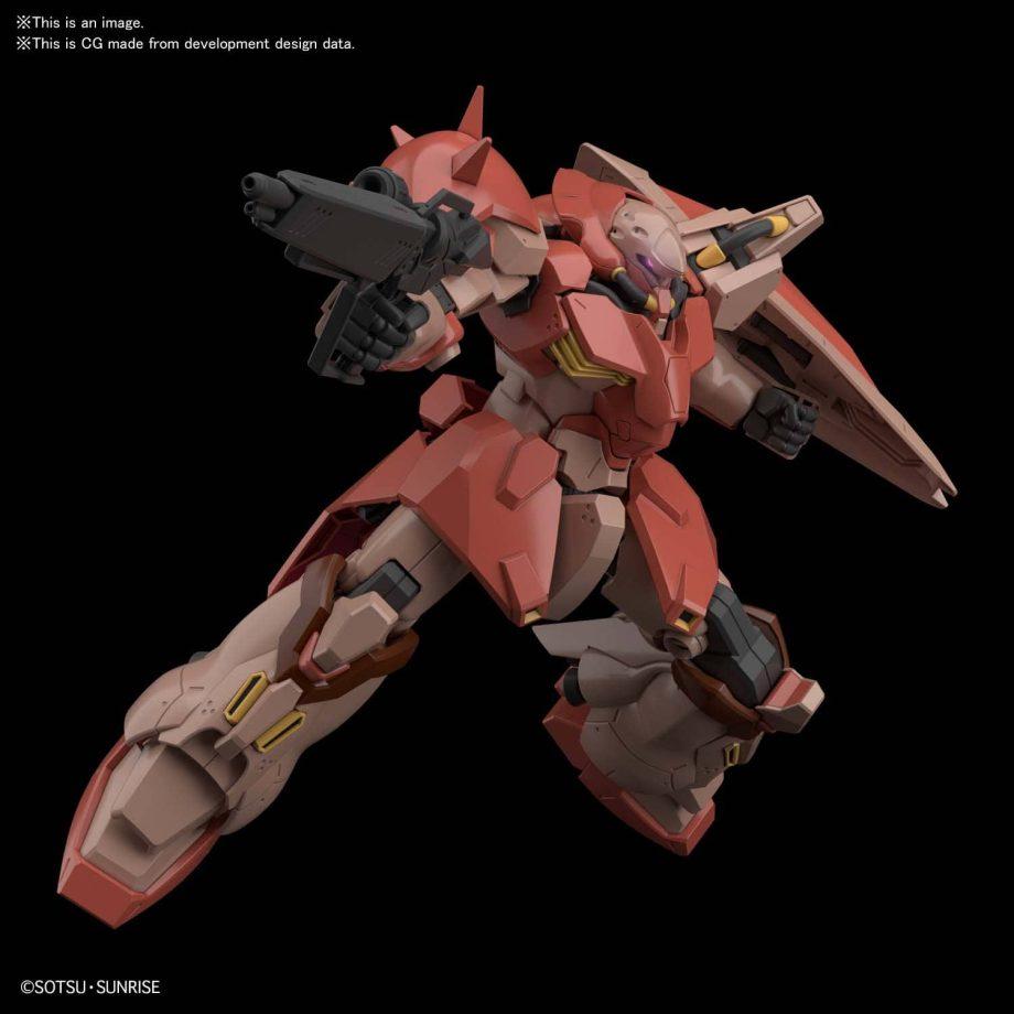 High Grade Messer F-1 Pose 1