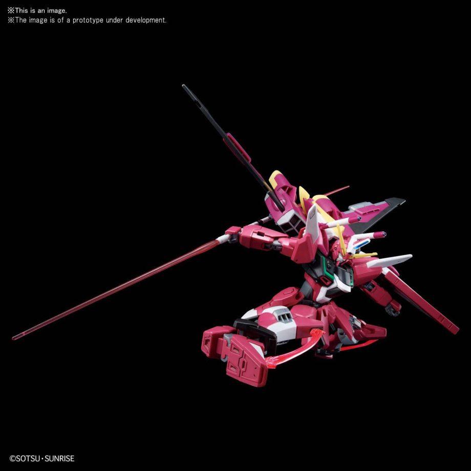 High Grade Infinite Justice Gundam Pose 1
