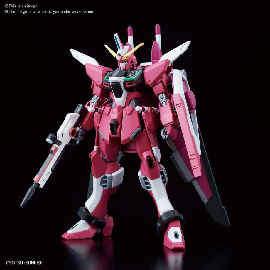 High Grade Infinite Justice Gundam Pose 2