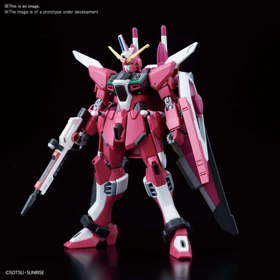 High Grade Infinite Justice Gundam Pose 2