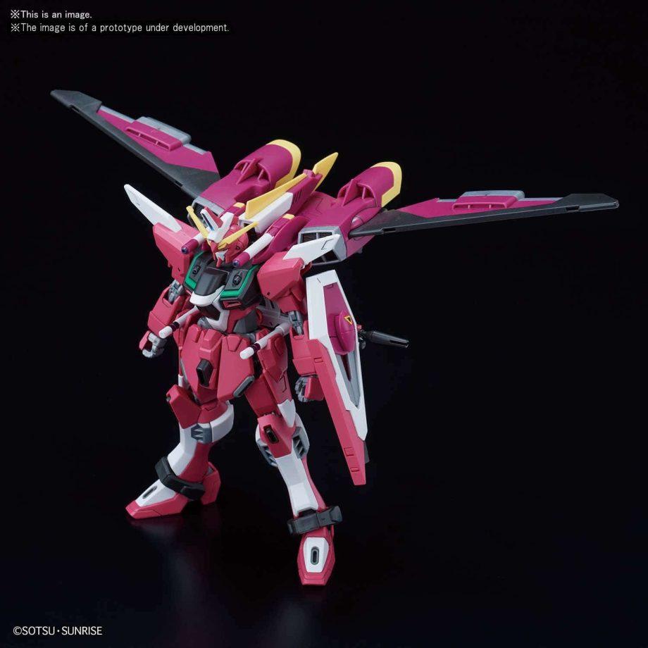 High Grade Infinite Justice Gundam Pose 3
