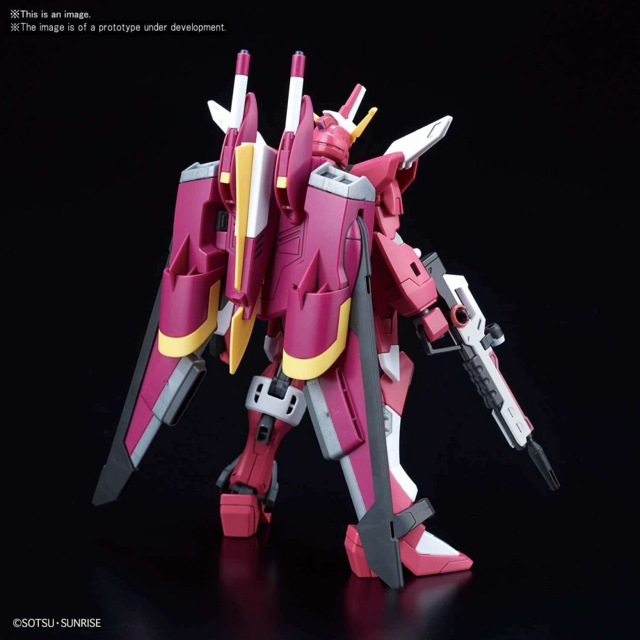 High Grade Infinite Justice Gundam Pose 4