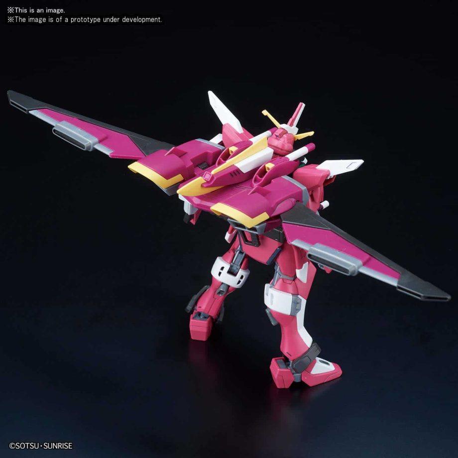 High Grade Infinite Justice Gundam Pose 5