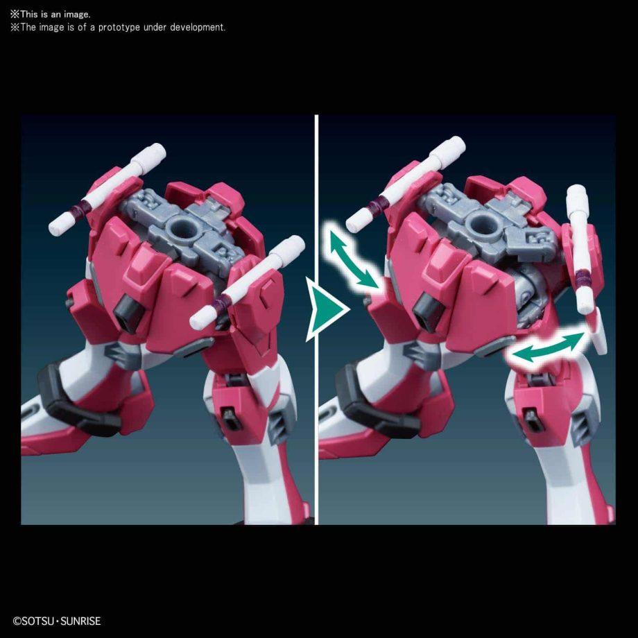 High Grade Infinite Justice Gundam Pose 8