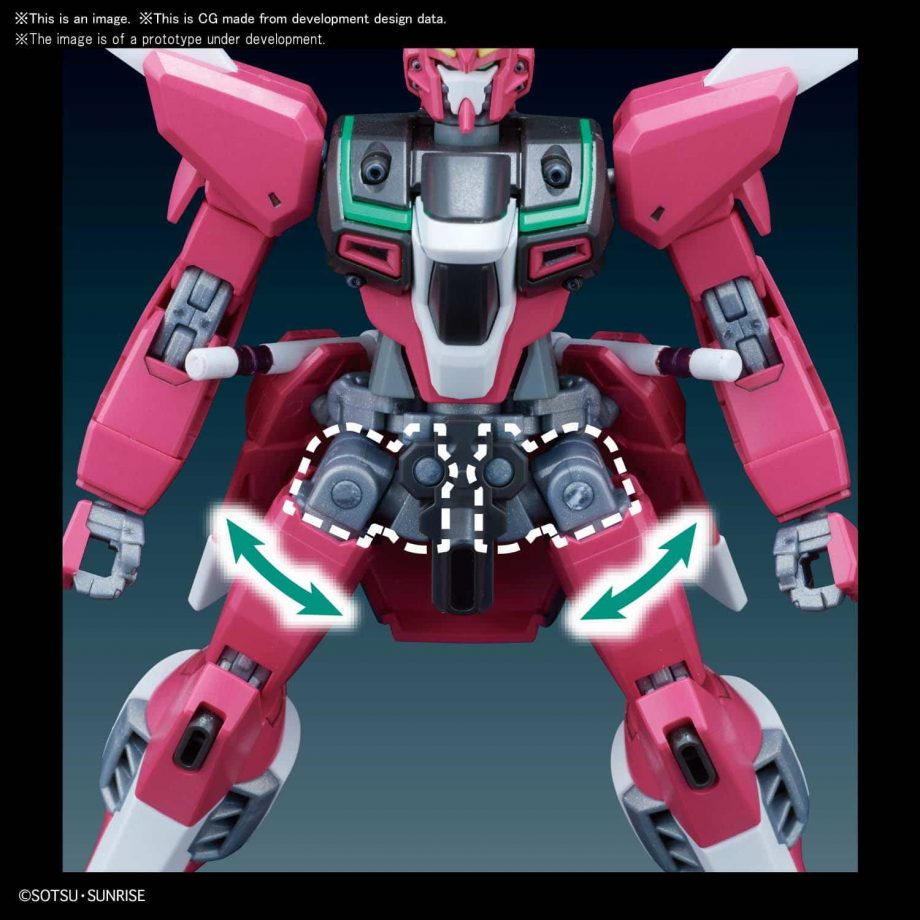 High Grade Infinite Justice Gundam Pose 9