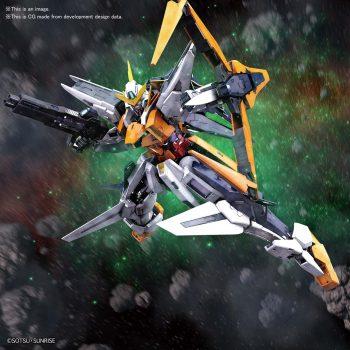 Master Grade Gundam Kyrios Pose 1