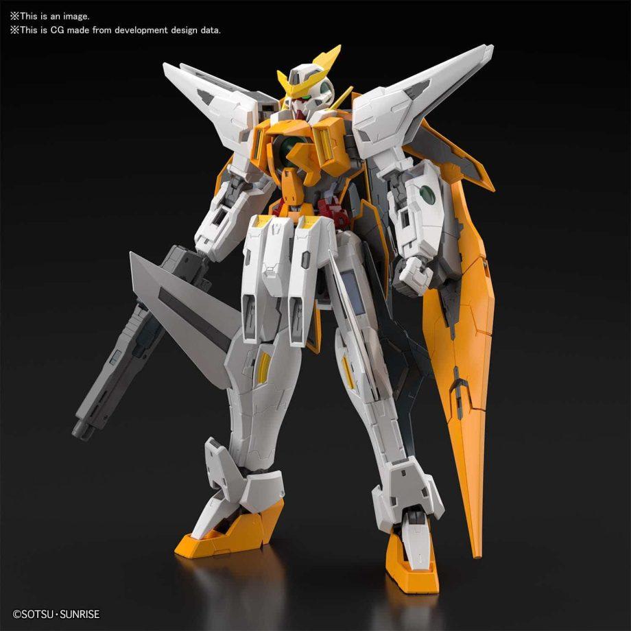 Master Grade Gundam Kyrios Pose 2