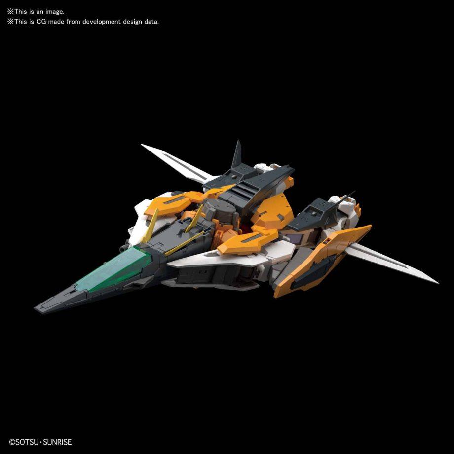 Master Grade Gundam Kyrios Pose 4