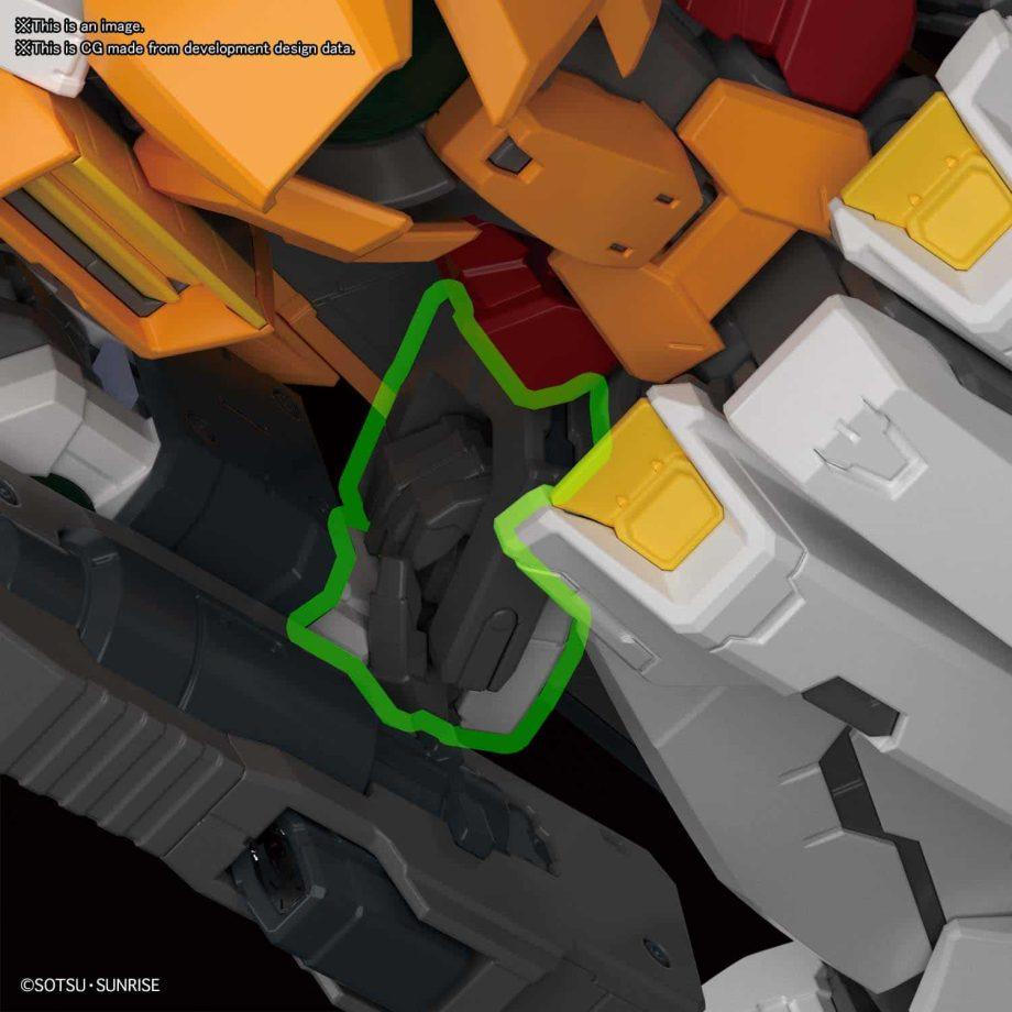 Master Grade Gundam Kyrios Pose 6