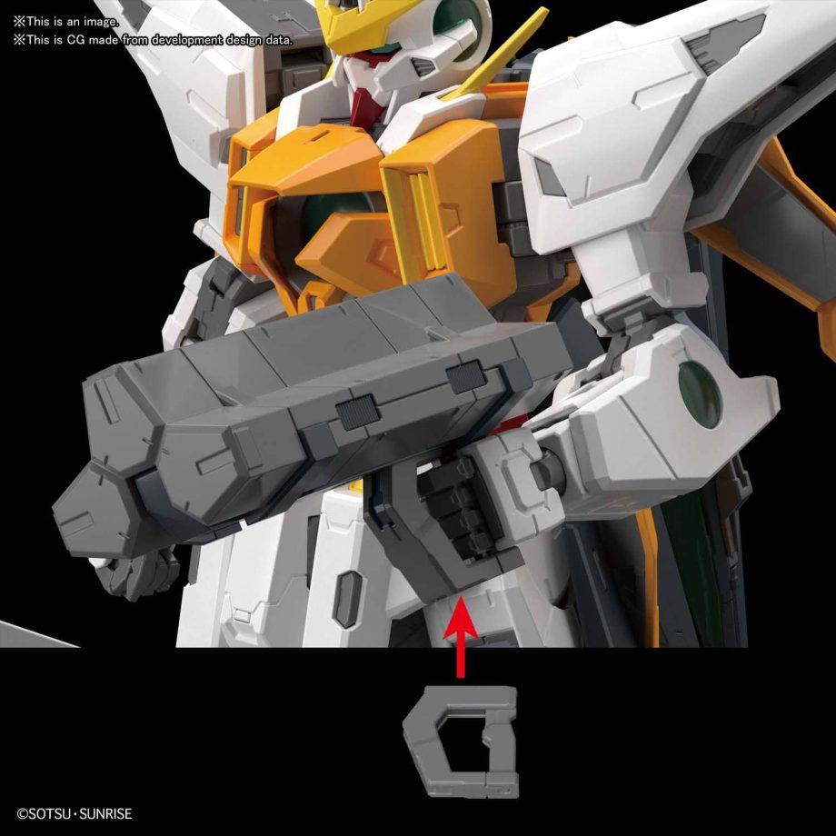 Master Grade Gundam Kyrios Pose 8