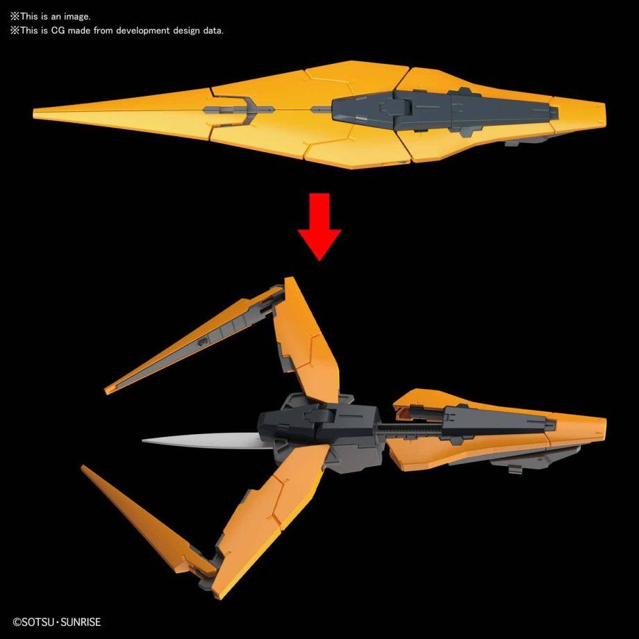Master Grade Gundam Kyrios Pose 9