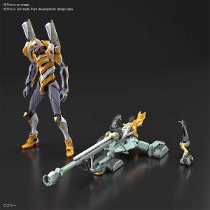 Evangelion Unit 00 DX Positron Cannon Set Pose 1