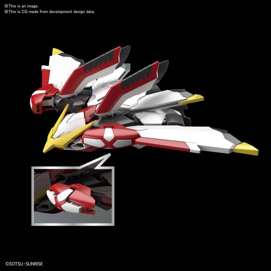 SDCS Phoenix Gundam Pose 3