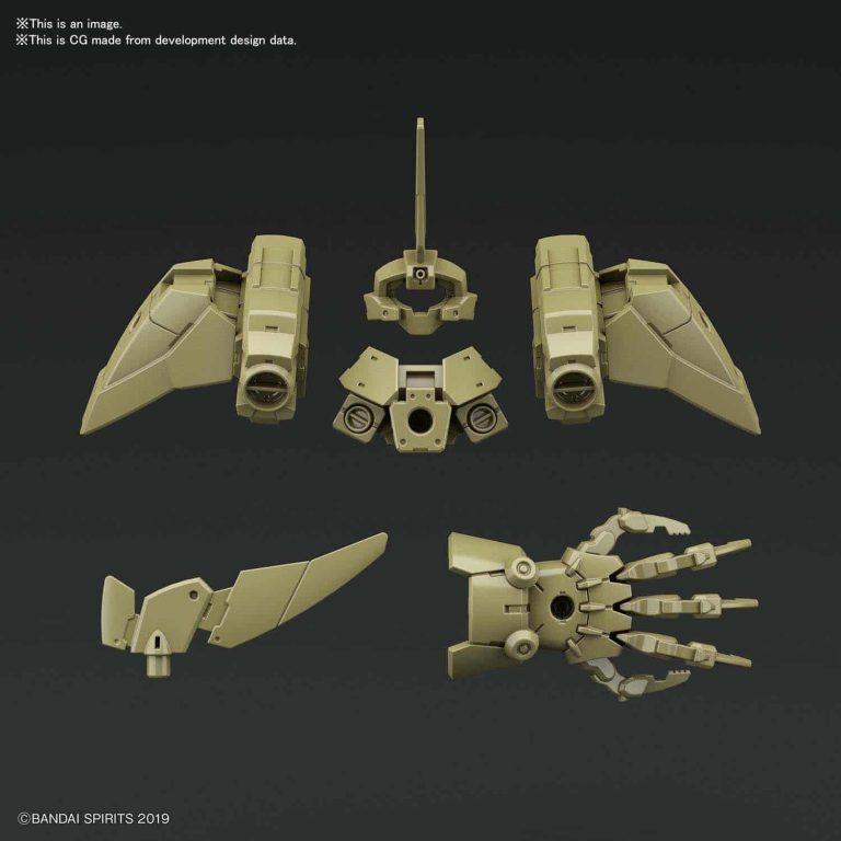 Cielnova Green Option Armor for Defense Operations Pose 1