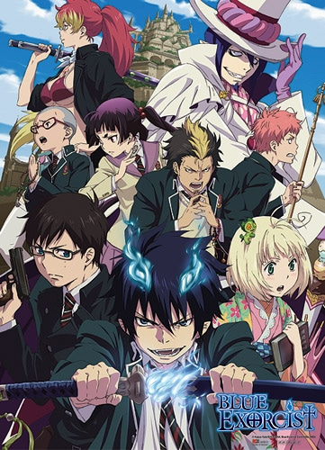 True Cross Academy Wall Scroll