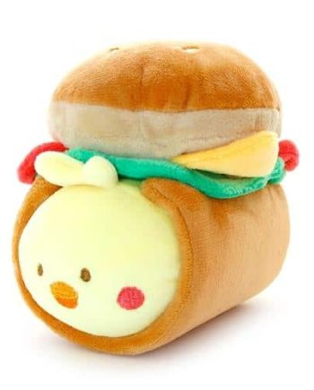Chickiroll Burger Plush Pose 1