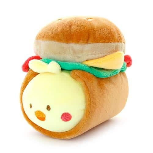 Chickiroll Burger Plush Pose 1