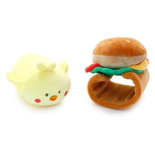 Chickiroll Burger PlushPose 2