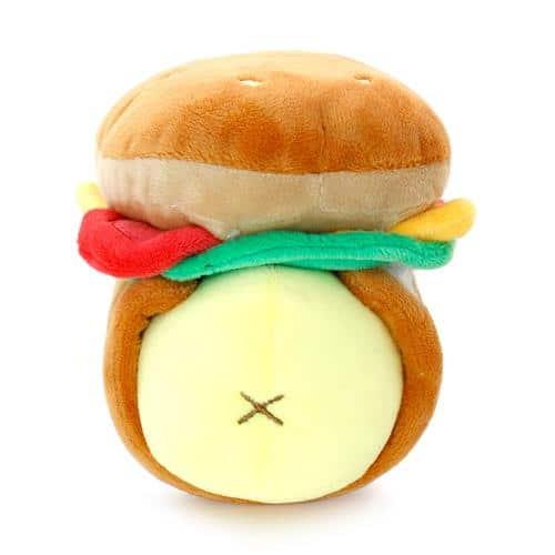 Chickiroll Burger Plush Pose 3
