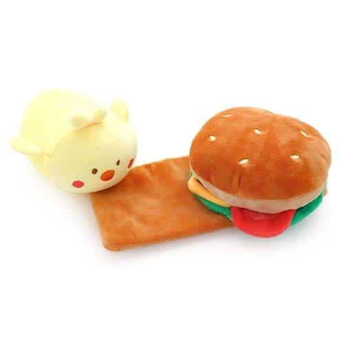 Chickiroll Burger Plush Pose 4