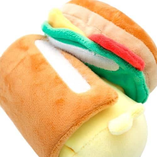 Chickiroll Burger Plush Pose 5