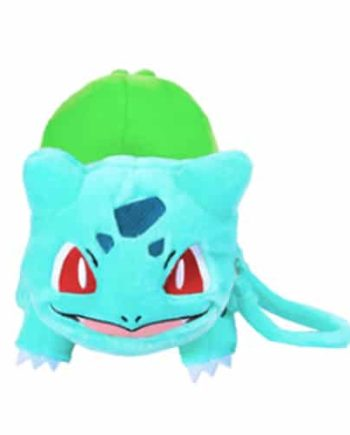 Bulbasaur Plush with Pouch Pose 1