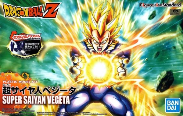 Super Saiyan Vegeta Figure Rise Standard Package Renewal Version Box