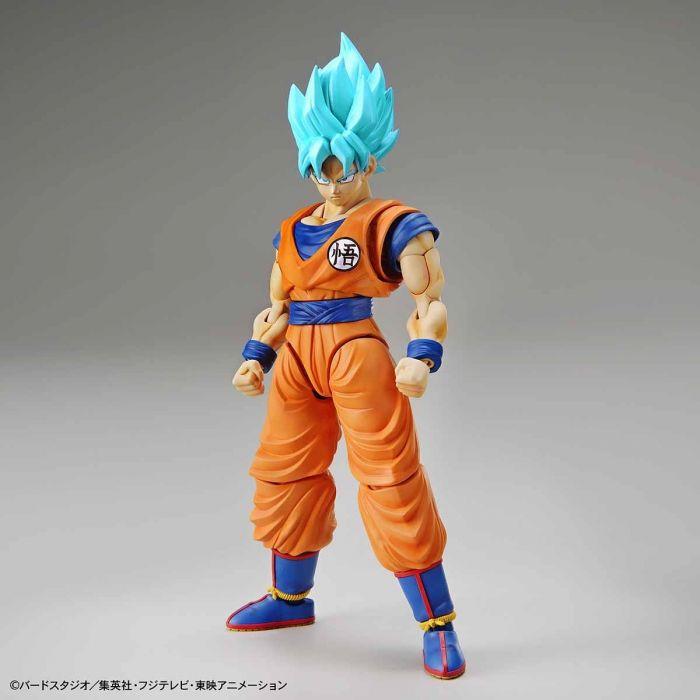 Super Saiyan Blue Goku Figure-Rise Standard Model Kit Package Renewal Version Pose 1