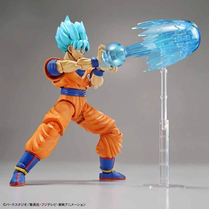 Super Saiyan Blue Goku Figure-Rise Standard Model Kit Package Renewal Version Pose 4
