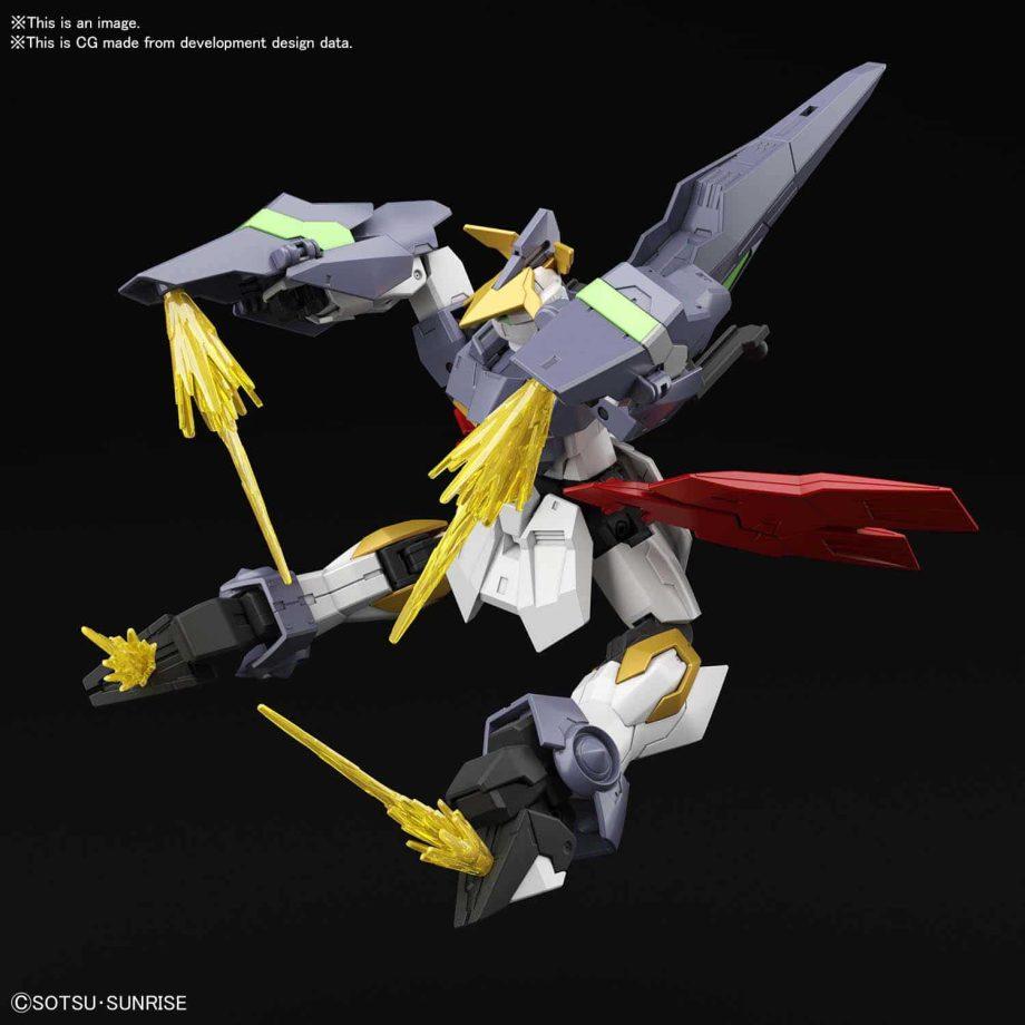 High Grade Aegis Knight Pose 2