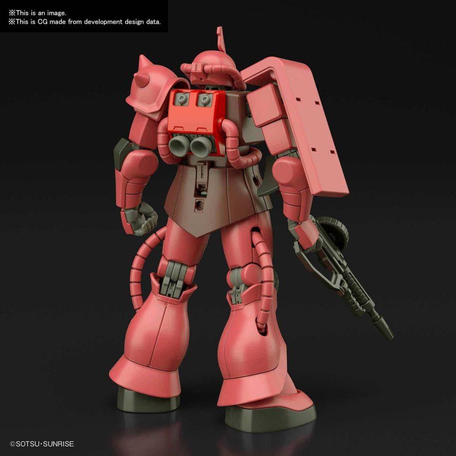1/144 High Grade MS-06S Zaku II Pose 2