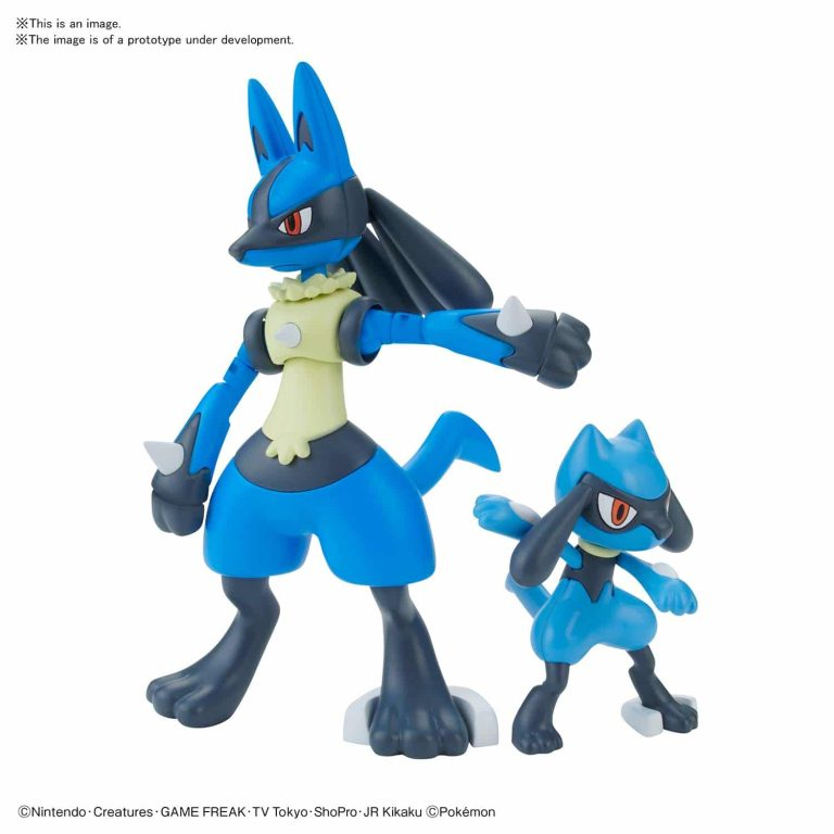 Riolu & Lucario Model Kit Pose 1