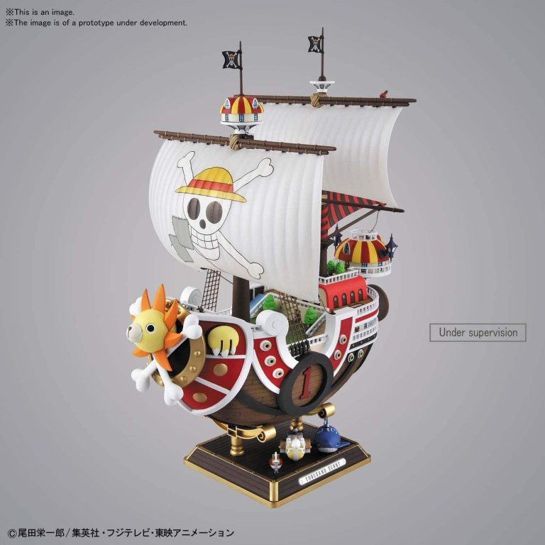 Sailing Ship Collection Thousand Sunny Land of Wano Ver Pose 1