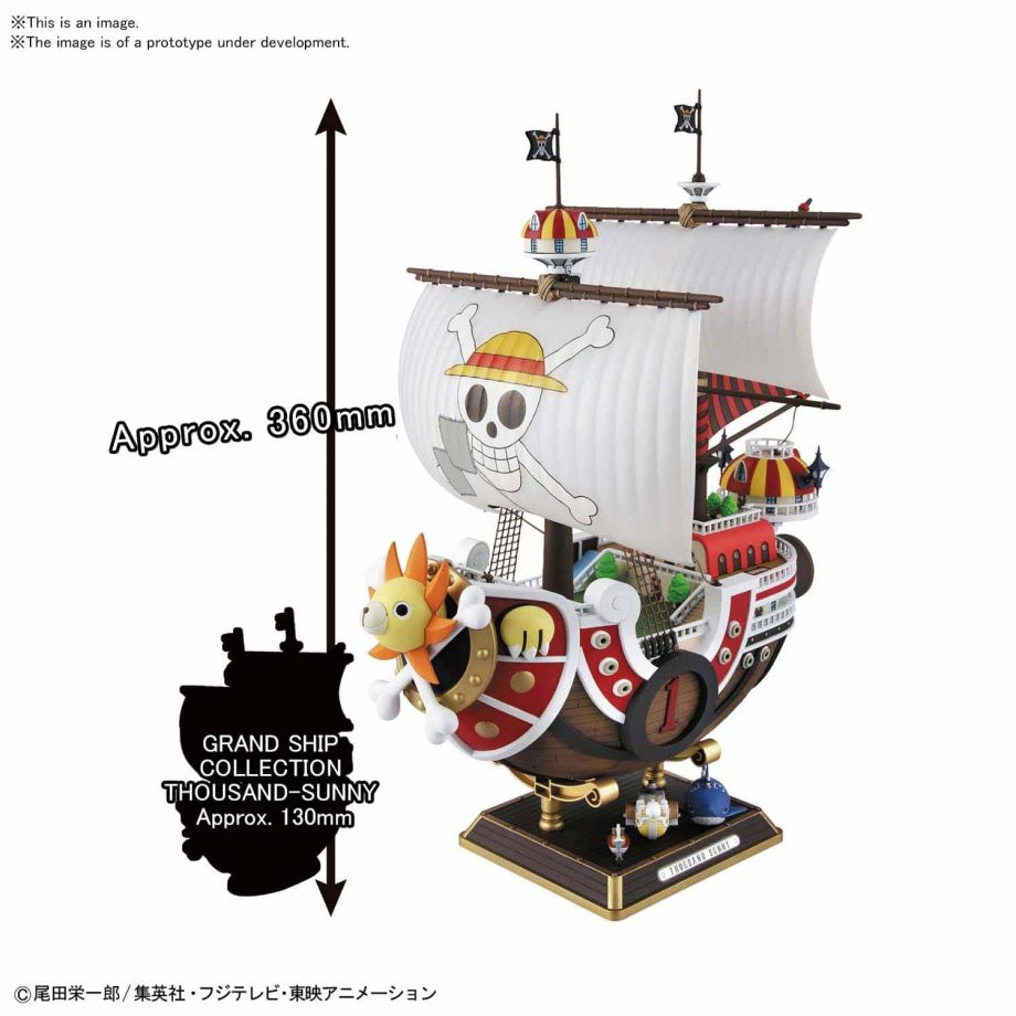Sailing Ship Collection Thousand Sunny Land of Wano Ver Pose 2