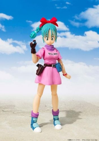 Bulma S.H. Figuarts Adventure Begins Pose 1