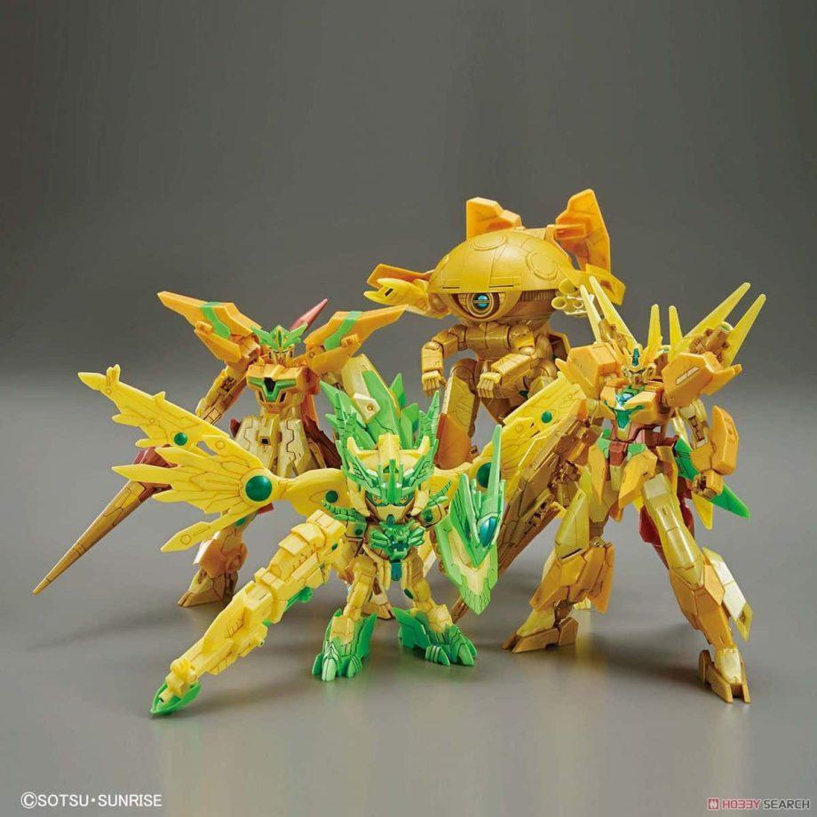 High Grade Re:Rising Gundam Pose 1