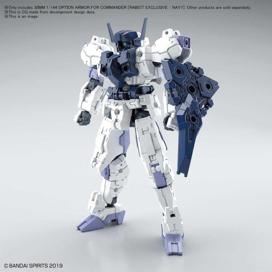Rabiot Navy Option Armor for Commander Pose 1