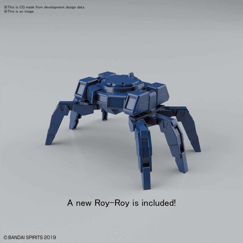 Rabiot Navy Option Armor for Commander Pose 3