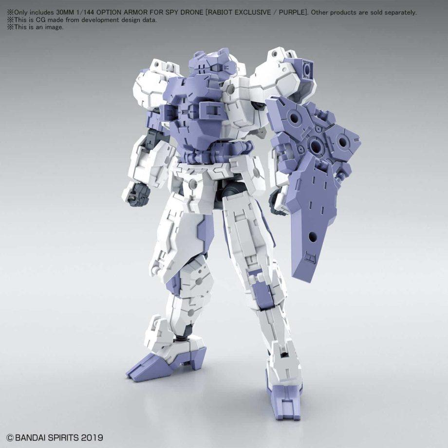 Rabiot Option Armor For Spy Drone Purple Pose 1