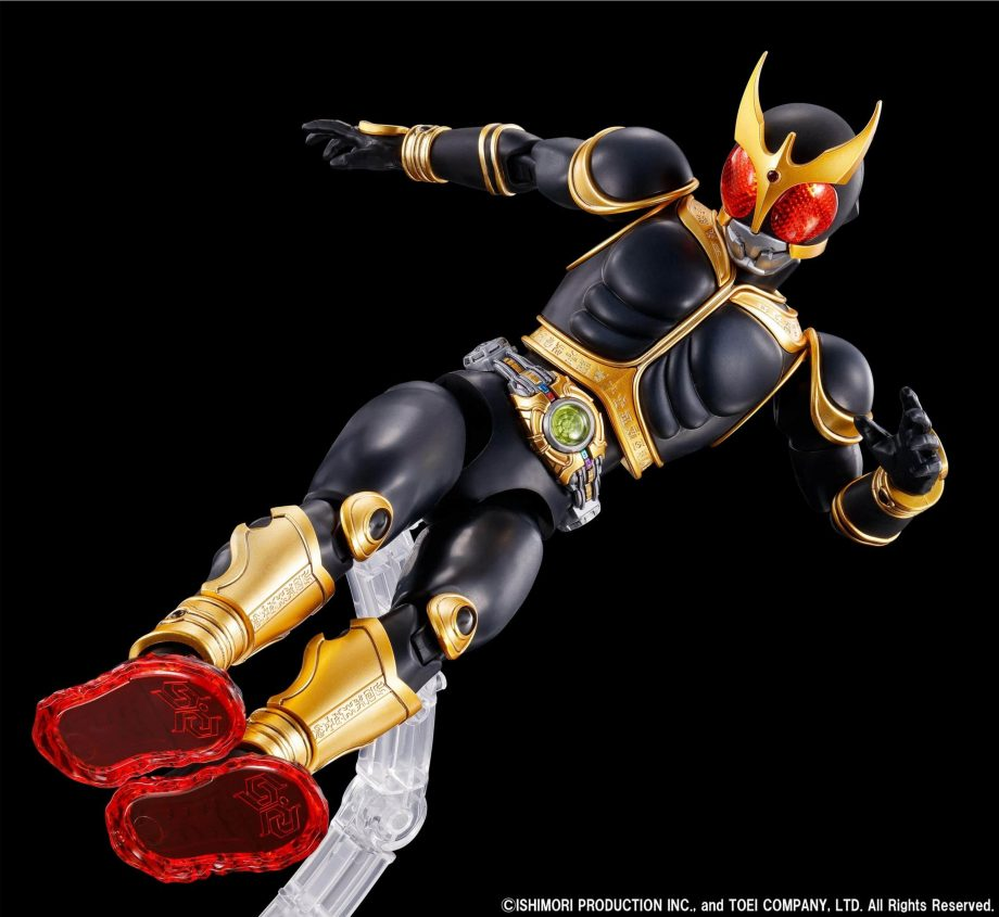 Masked Rider Kuuga Amazing Mighty & Rising Mighty Parts Set Pose 2