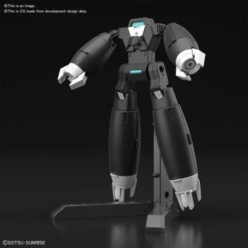 High Grade Gundam Aun[RIZE] Armor Pose 1