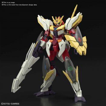 High Grade Gundam Anima[RIZE] Pose 1