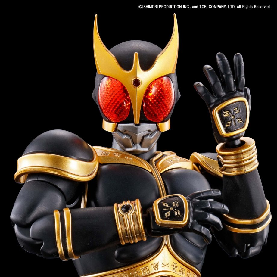 Masked Rider Kuuga Amazing Mighty & Rising Mighty Parts Set Pose 3