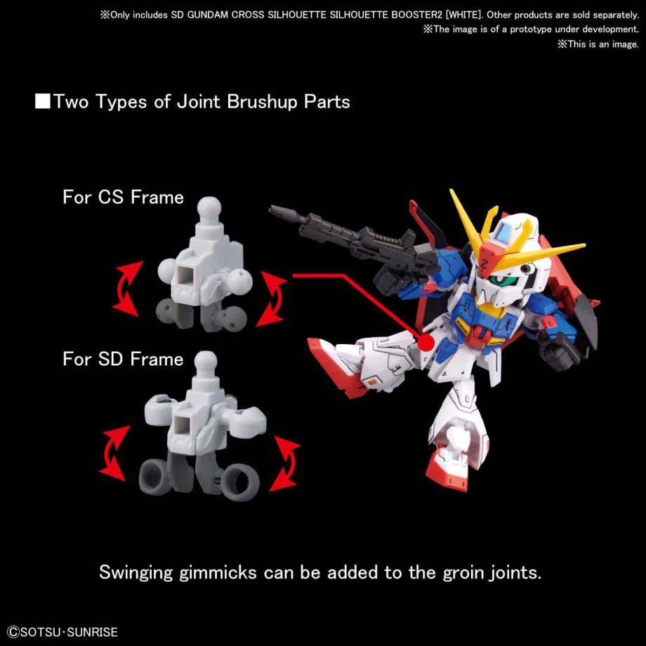 SDGCS Silhouette Booster 2 White Pose 4