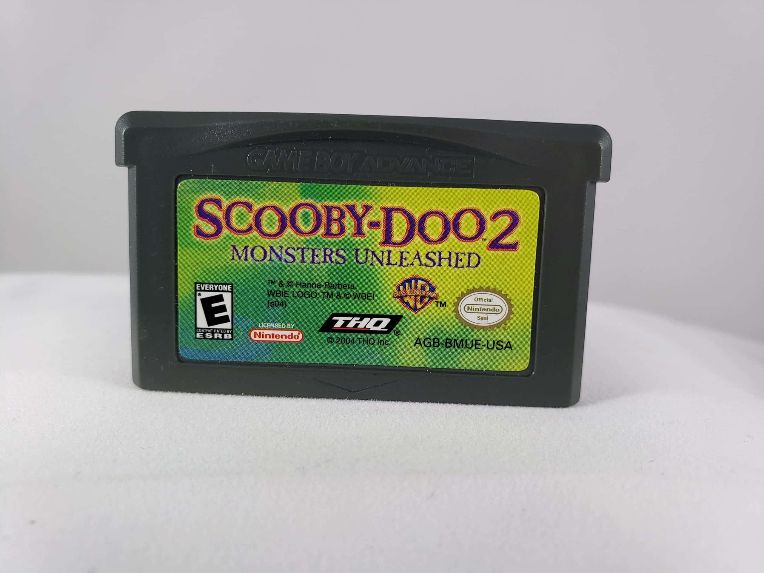Geek Is Us Com Game Boy Advance Scooby Doo 2 Monsters Unleashed