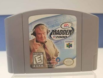 Nintendo 64: Madden 2000