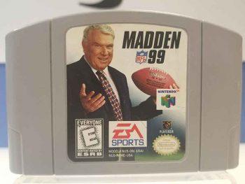 Nintendo 64: Madden 99